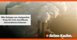 CO2-Zertifikate kaufen - Social-Media-Grafik für Ratgeber